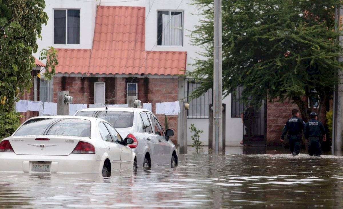 auto-inundación