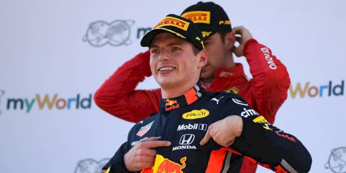 """Joyas del archivo: el video del primer """"incidente"""" entre Max Verstappen y Charles Leclerc"""