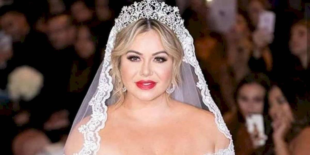 Chiquis Rivera compartió detalles de su boda, pero sus pies se llevaron la atención
