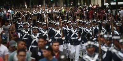 Desfile por el Día del Ejército.