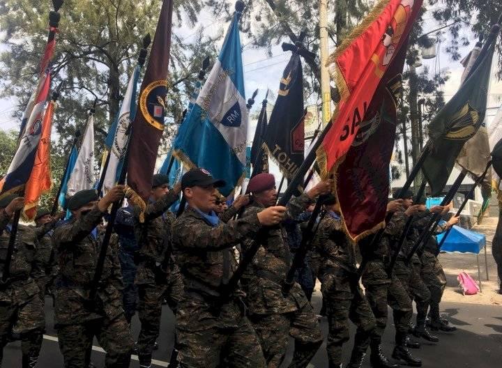 Ejército de Guatemala. Foto: Edwin Bercián