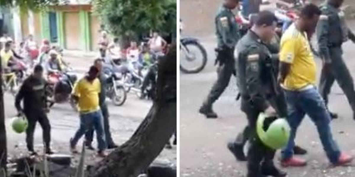 (video) Capturan a conductor de volqueta que arrolló y mató a nueve personas