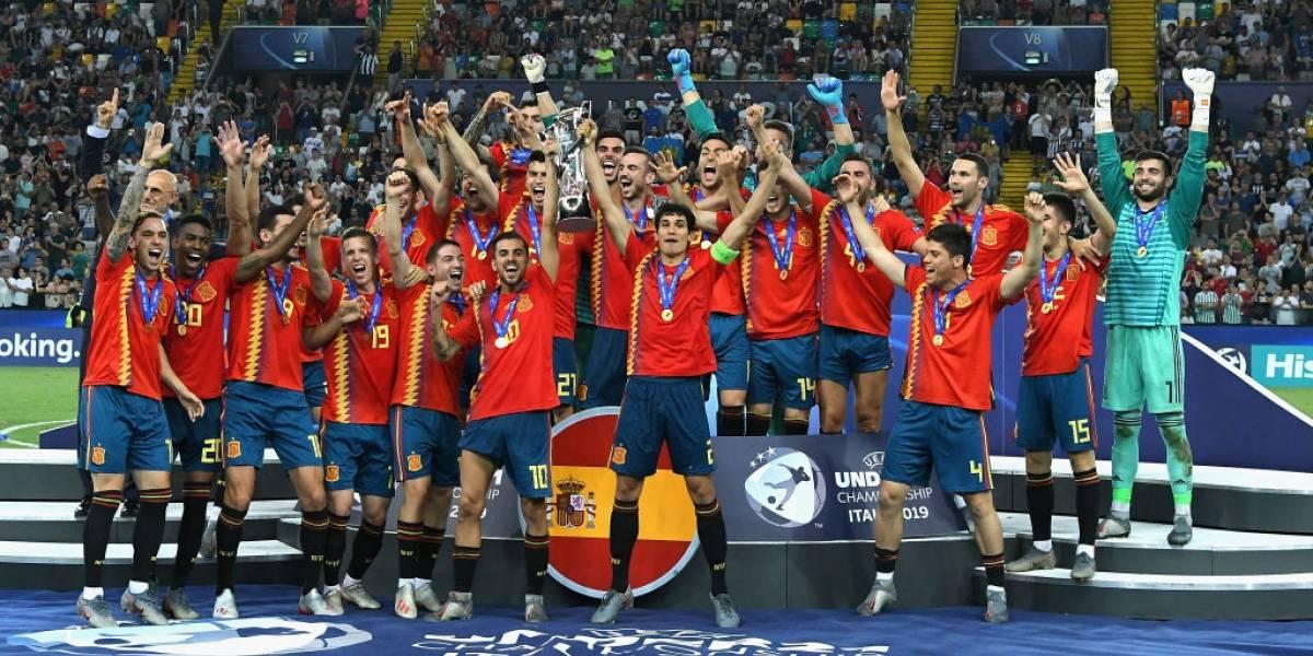 España le gana a Alemania el título Europeo Sub-21
