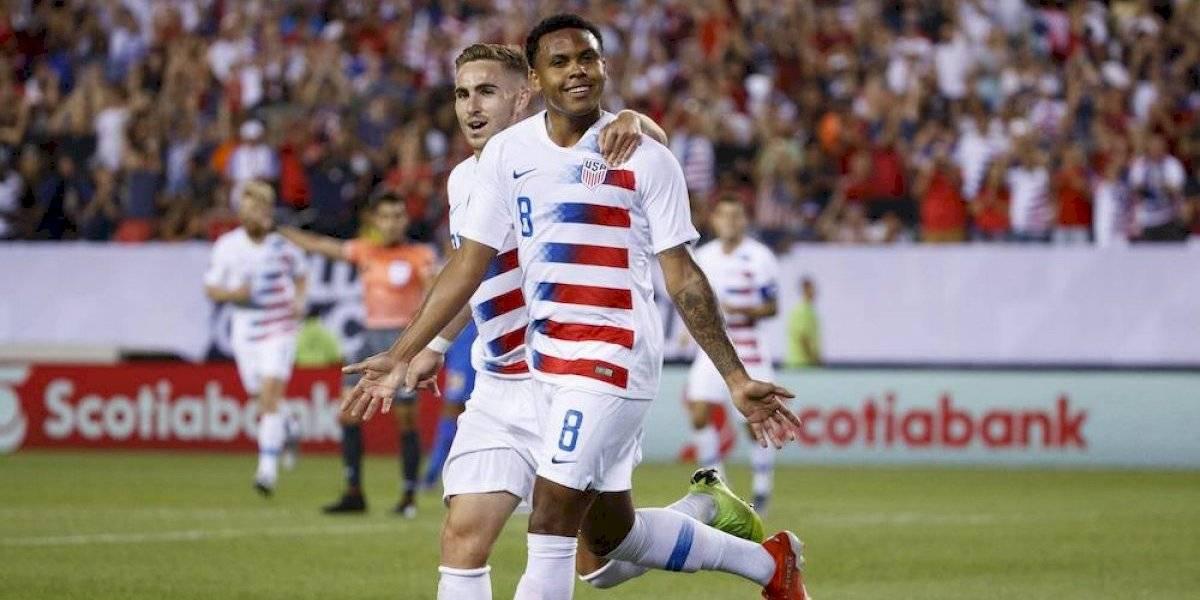 Estados Unidos califica de manera sufrida a semis de la Copa Oro