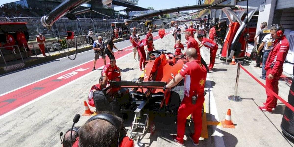 VIDEO: El enorme error y berrinche de Ferrari en el GP de Austria
