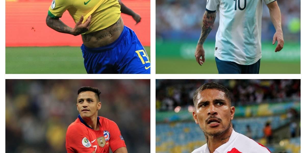 Brasil, Argentina, Chile y Perú: ¿Cómo llegan los cuatro candidatos a las semifinales de Copa América?