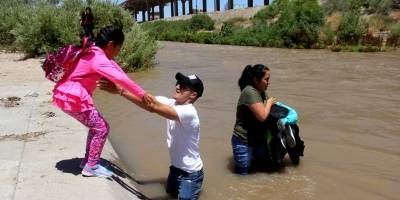 Río Bravo migrantes