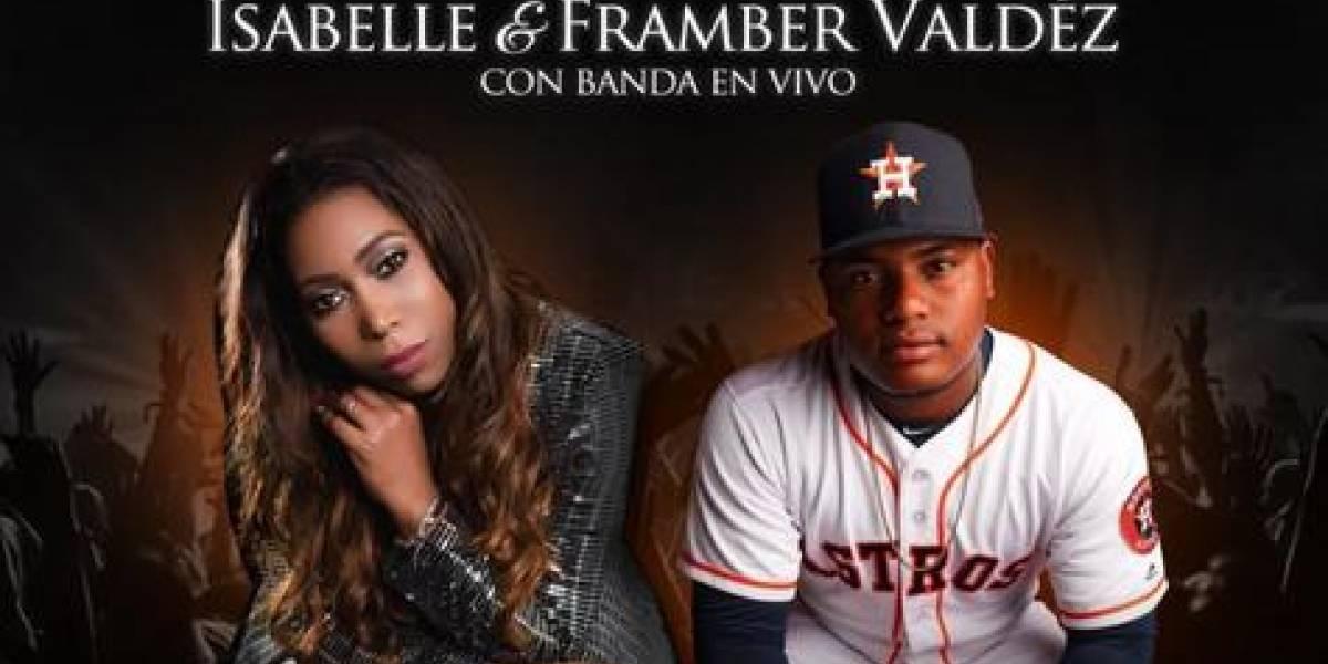 Isabelle Valdez y el pelotero Framber Valdéz unidos por una causa
