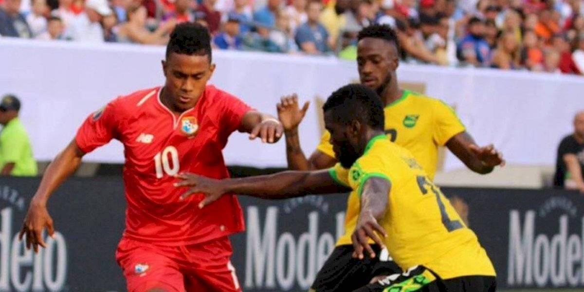 Un penalti marcó la diferencia entre Jamaica y Panamá