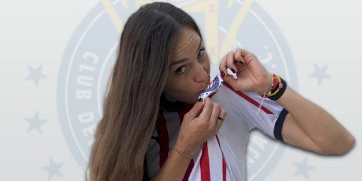 Janelly Farías llega a Chivas con ilusión de ser campeona