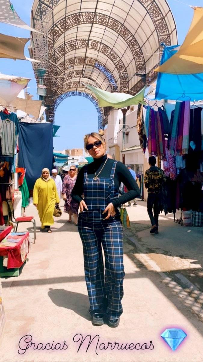 Karol G y sus días en Marruecos Instagram