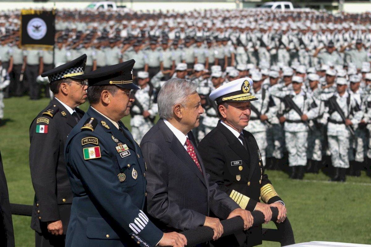 En un acto de Campo Marte, López Obrador dio el