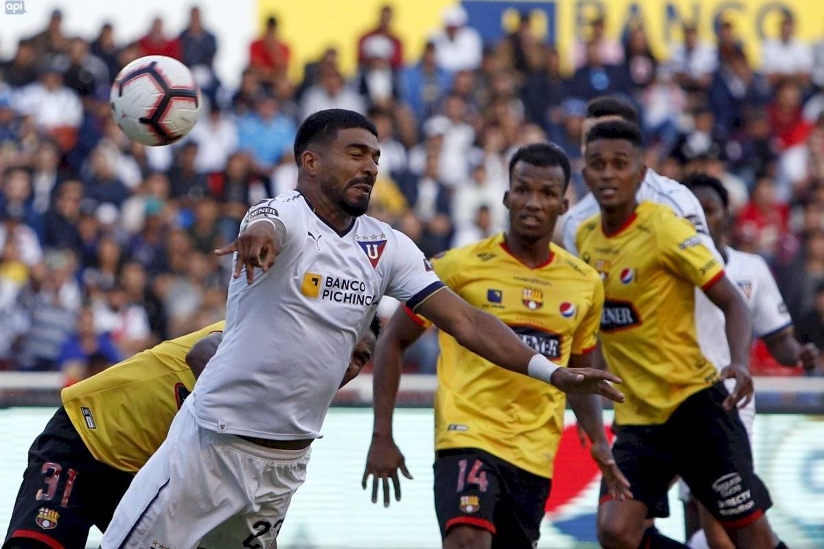 Liga de Quito vs Barcelona SC API