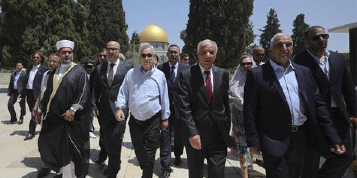 Liberan a ministro palestino