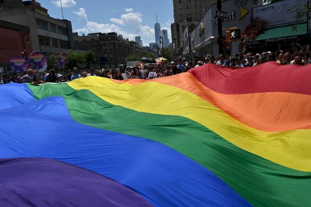 Celebran el Orgullo Gay en Nueva York