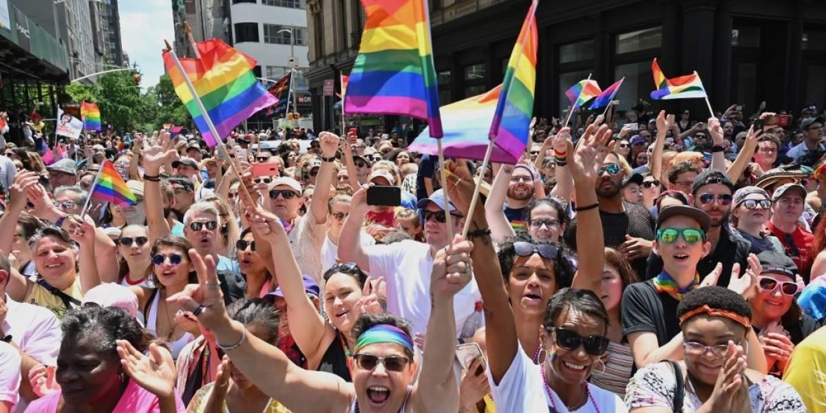 EN IMÁGENES. Nueva York celebra los 50 años del Orgullo Gay