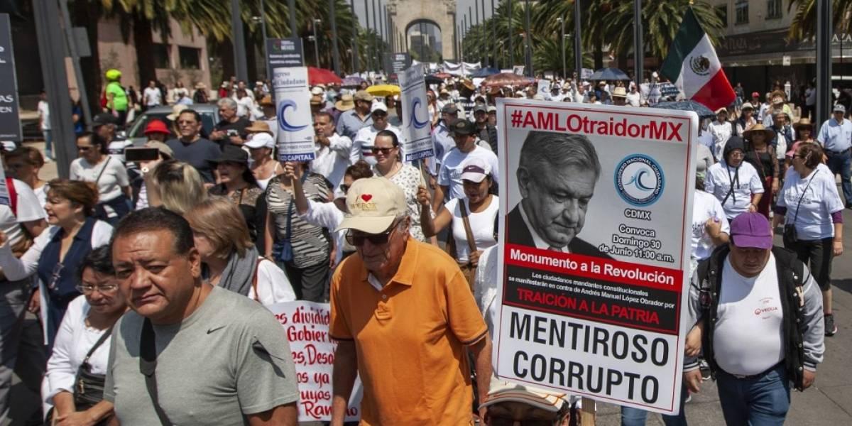 VIDEO. Miles de personas protestan en Ciudad de México contra López Obrador