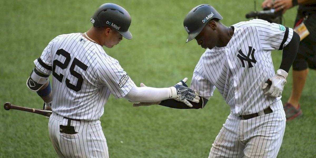 Yankees remontan y barren serie ante Red Sox en Londres