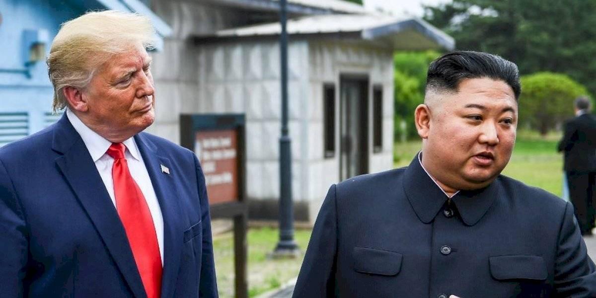 Trump hace historia y visita por primera vez Corea del Norte