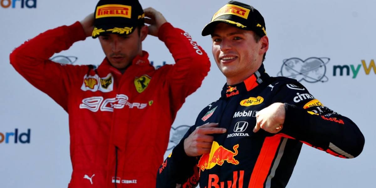 Verstappen termina con la racha de Mercedes en el GP de Austria