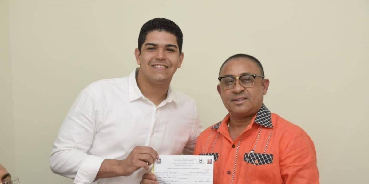 Haysel González inscribe precandidatura a Regidor por SDE