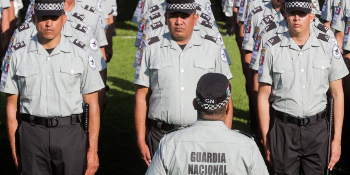 Guardia Nacional cumple parámetros constitucionales: SSPC