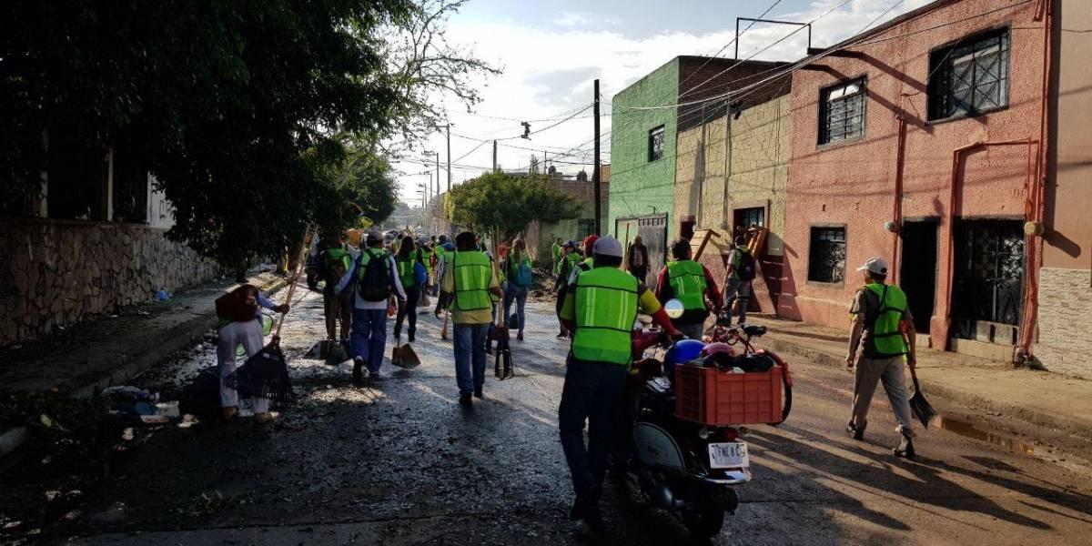 Buscan fondos federales para apoyar a afectados por granizo en Guadalajara