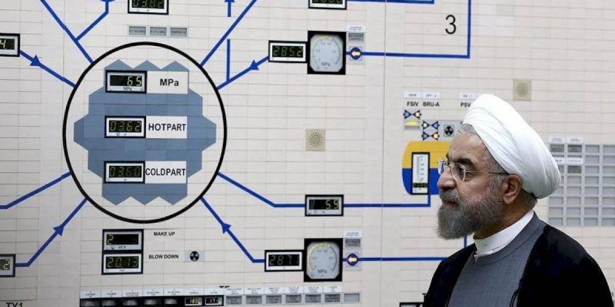 Irán supera el límite de uranio permitido en acuerdo