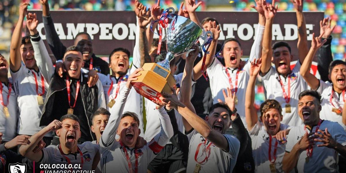 ¿La mejor cantera del país? Colo Colo ganó las tres finales del fútbol joven que disputó