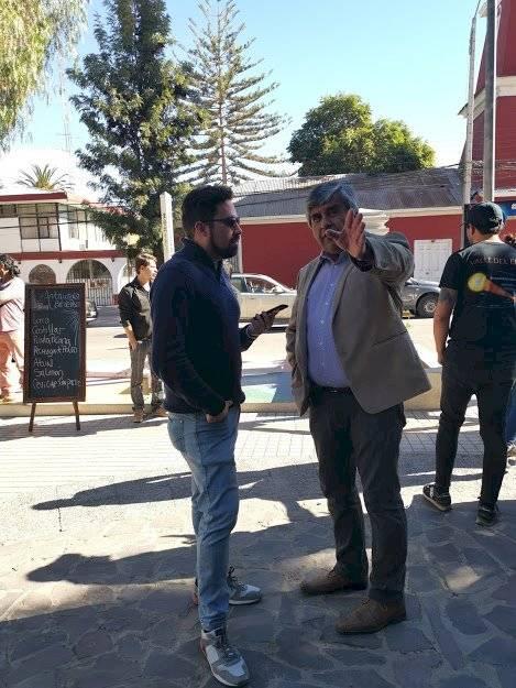 """Alcalde de Vicuña """"Richard Branson está hospedándose a quince minutos de la comuna a la espera del eclipse solar"""""""