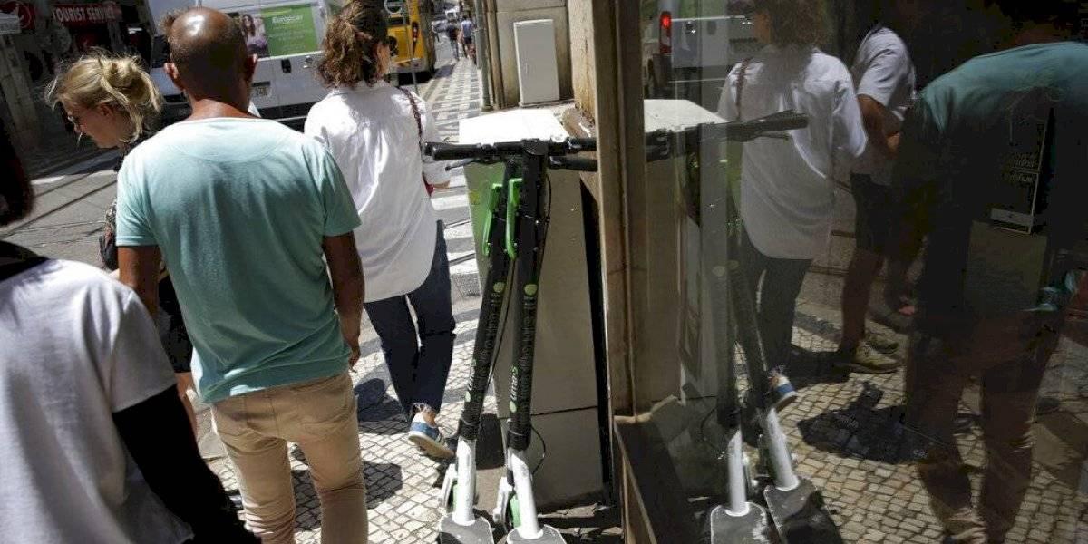 Lisboa le declaró la guerra a los scooters eléctricos