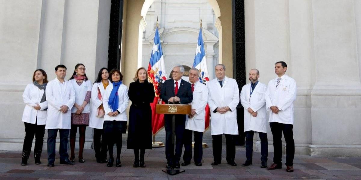 Estos son los 4 tipos de cáncer que el Presidente Piñera sumó al Auge