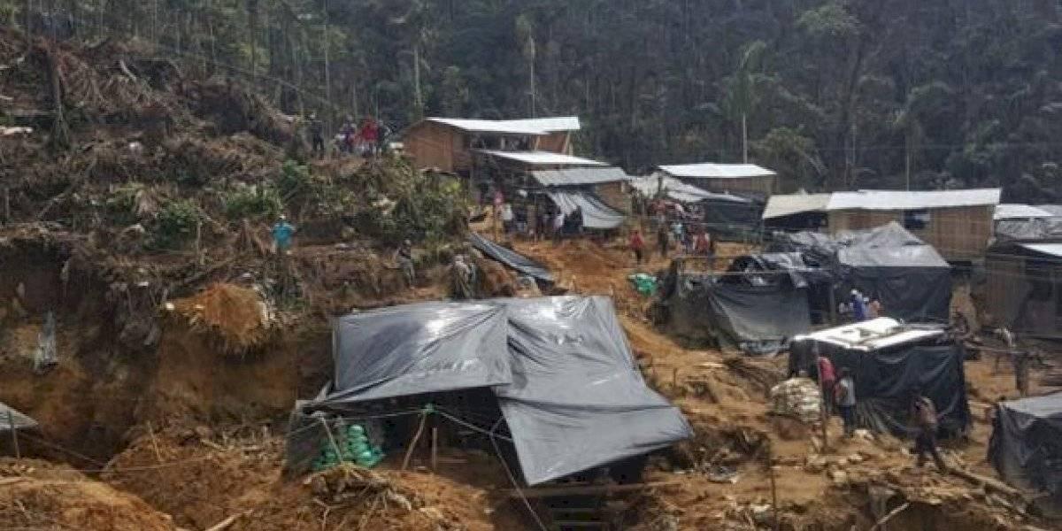 Declaran estado de excepción por minería ilegal en Buenos Aires, Ecuador