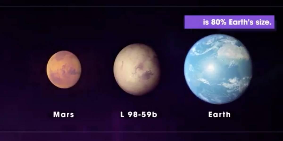 Novo planeta é descoberto por cientistas da NASA: pequeno 'L 98-59b'