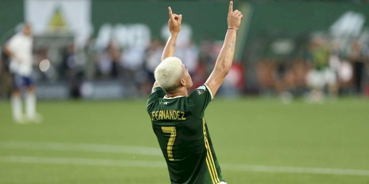 Brian Fernández brilla en la MLS y a punta de goles fija récord histórico en Estados Unidos