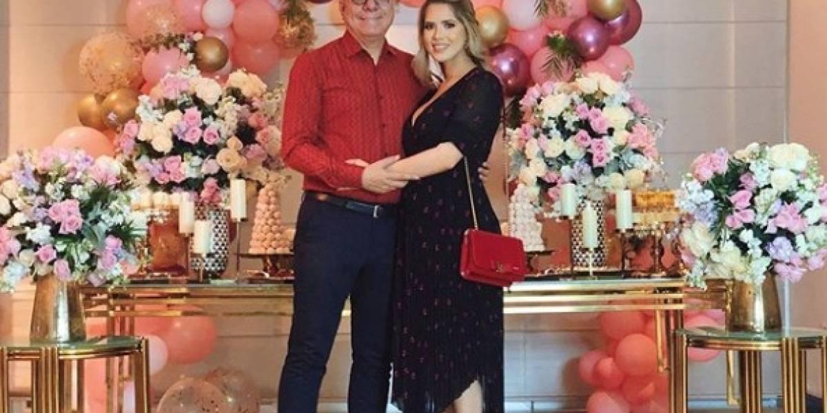 Así fue el baby shower de Rosibel Zambrano, esposa de Vito Muñoz