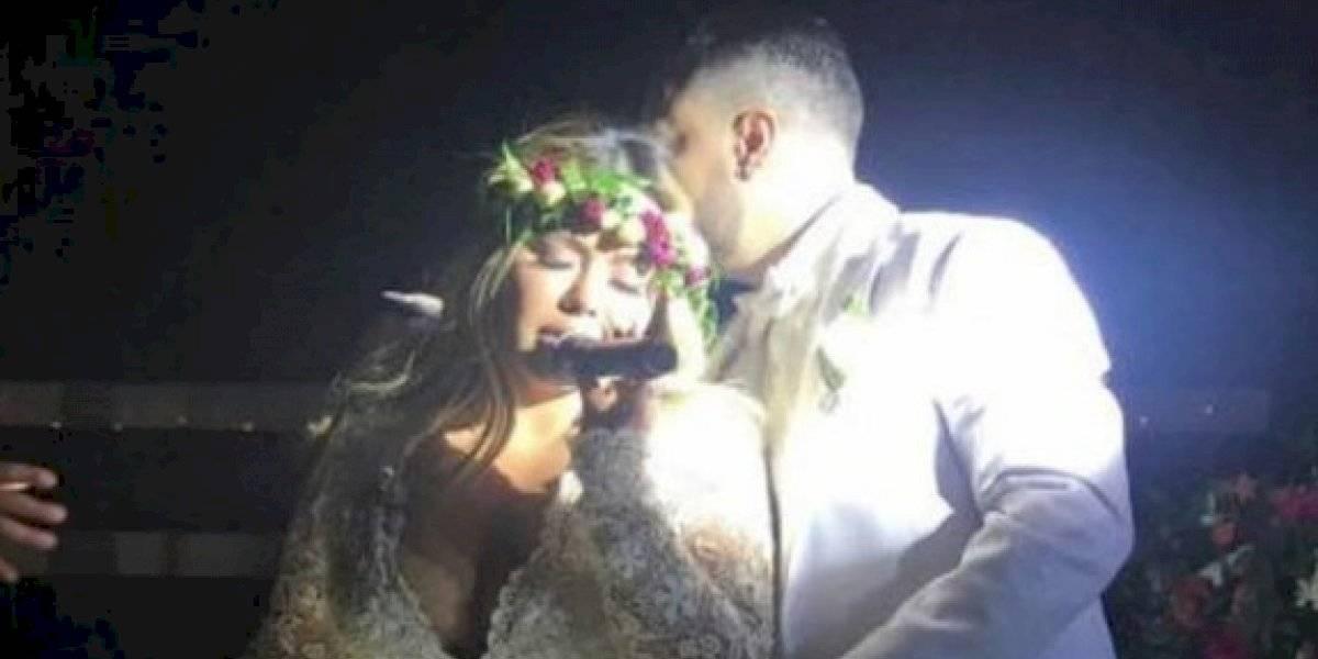 VIDEO. Chiquis Rivera se casa en medio de gritos, empujones y golpes