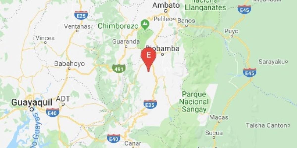 ¿Por qué hubo dos sismos en Chimborazo este domingo?