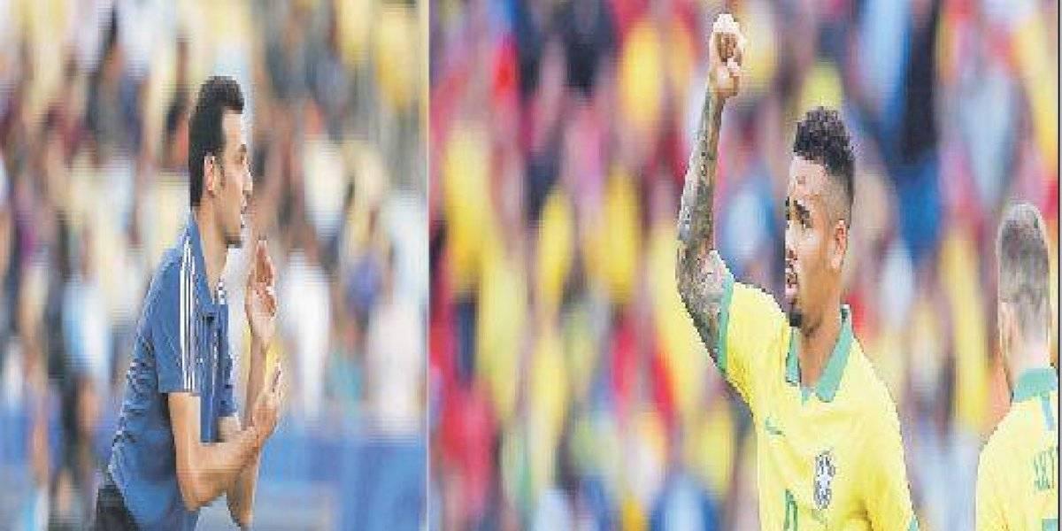 Brasil - Argentina por las semis de la Copa