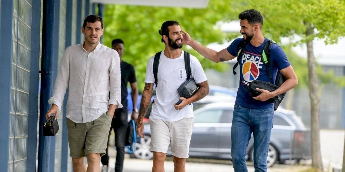 Casillas regresa a los entrenamientos con el Porto tras infarto