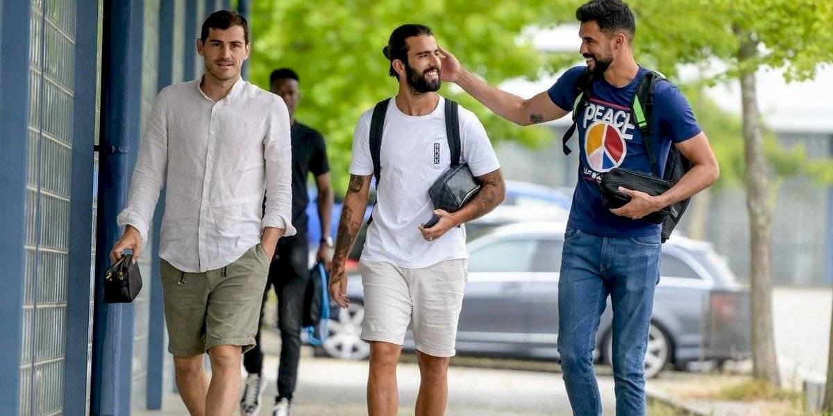Iker Casillas vuelve a entrenar después de sufrir un infarto