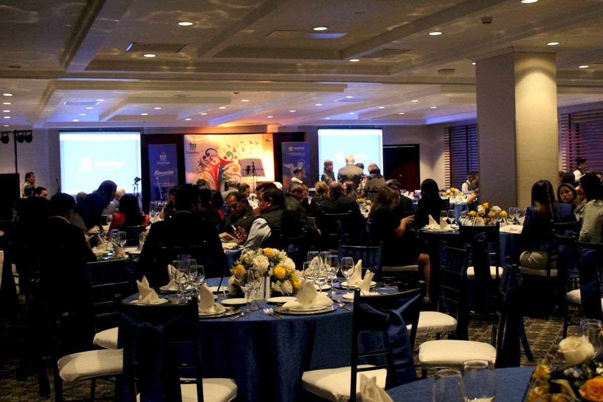 Evento de presentación de CoopMego en Quito Metro Ecuador