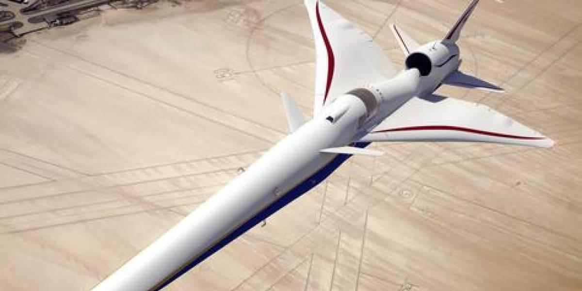 ¡El nuevo jet de la NASA no tiene ventanas!