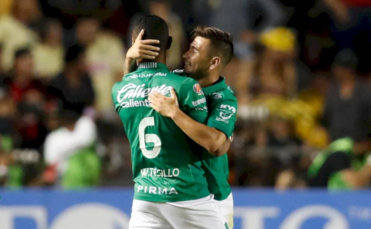 Meneses y Tesillo destacaron en la gran campaña de León en el último Clausura de la Liga MX / Foto: AP