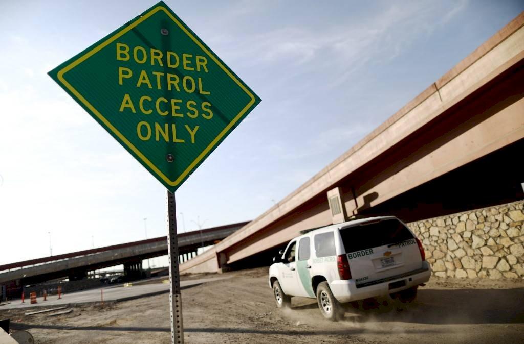 Patrulla fronteriza en Estados Unidos. Foto: AFP