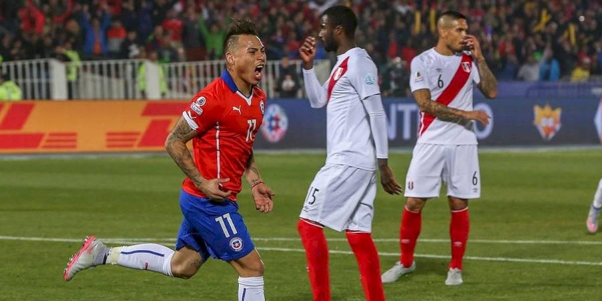 """Eduardo Vargas es la """"bestia negra"""" de Perú y quiere seguir sumando goles con la Roja en la Copa América"""