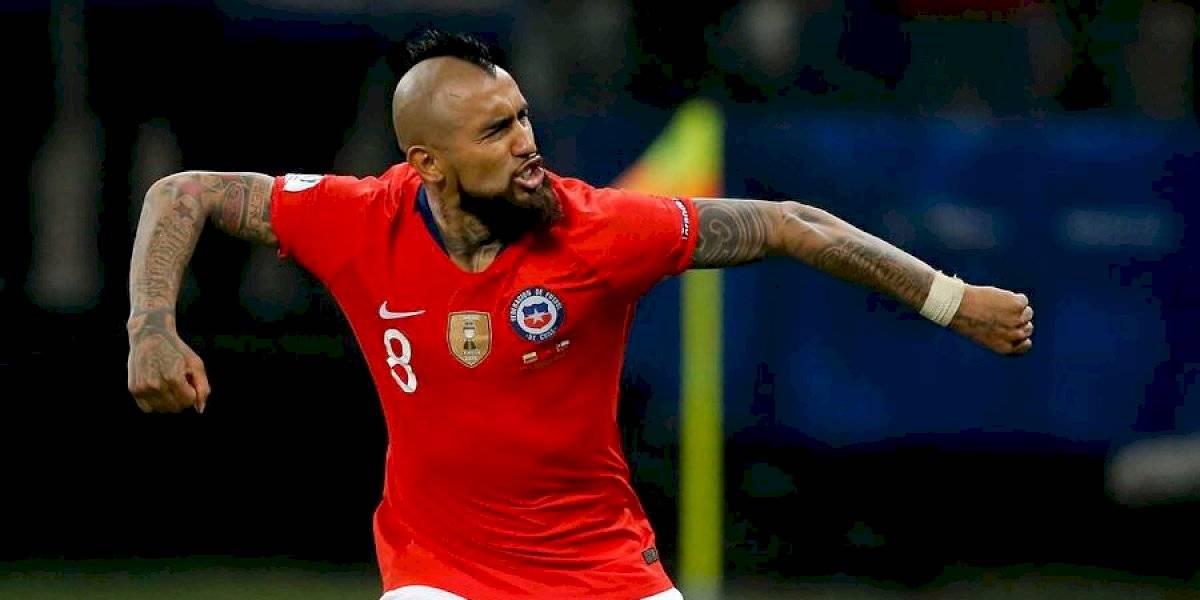 """Vidal no se guarda nada ante Perú: """"Vamos a entregar todo, si hay que arriesgar una amarilla, lo haremos"""""""