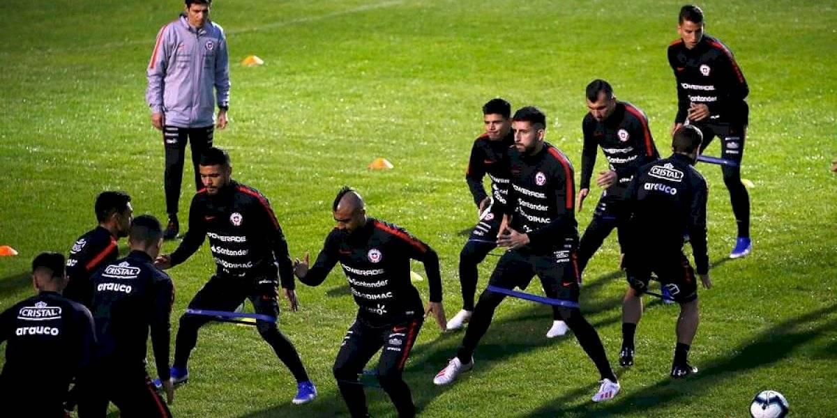 Plantel de la selección chilena tuvo sorpresivo control antidopaje