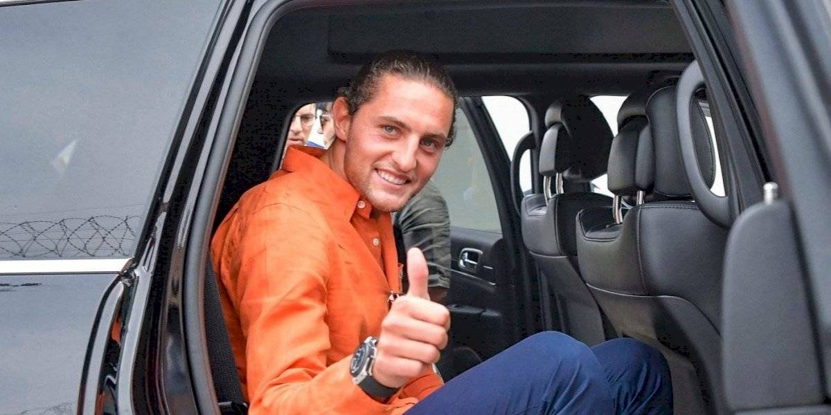 La Juventus le da la bienvenida a su nuevo fichaje, Adrien Rabiot