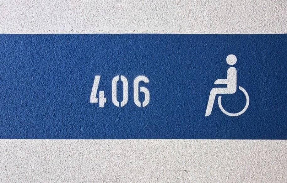 Símbolo de discapacitados